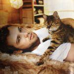 Gatoterapia contra el estres con un Gato Bengalí